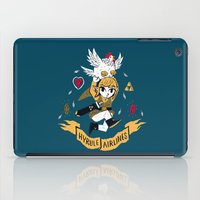 hyrule iPad Cases featuring hyrule airlines by Louis Roskosch