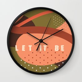 Let it be Wall Clock