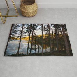 Sunset in far north Rug