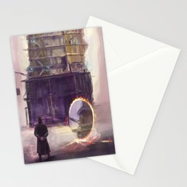Mazrim Taim with Ashamans builds the Black Tower Stationery Cards