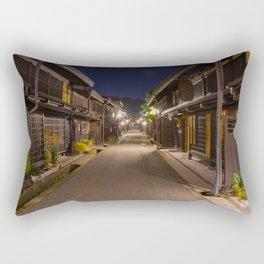 Takayama at Night Rectangular Pillow