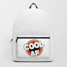 Cool AF / Super Cool  Backpack
