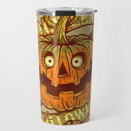 Halloween dark khaki Travel Mug