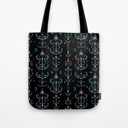 Walks With The Blue Moon Tote Bag