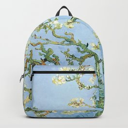 Van Gogh Almond Blossoms, Sky Blue Backpack