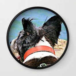 Molly's P.O.V. aka Ears Blowing in the Wind Wall Clock