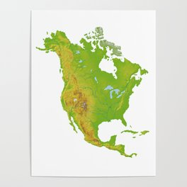 Physically North America Poster