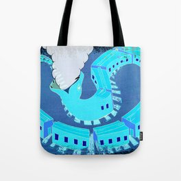 SNAKES OF IRON Tote Bag