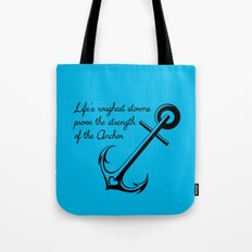 Who is your Anchor? Tote Bag