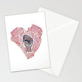 Untitled (Heart Fist) Stationery Cards