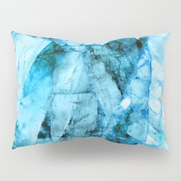 Blue crystal Pillow Sham