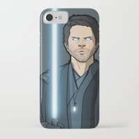 jedi iPhone & iPod Cases featuring Jedi Cas by rdjpwns