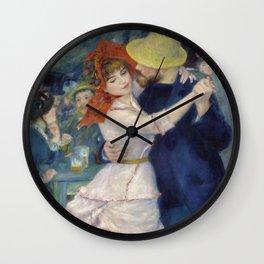 Pierre-Auguste Renoir - Dance at Bougival Wall Clock