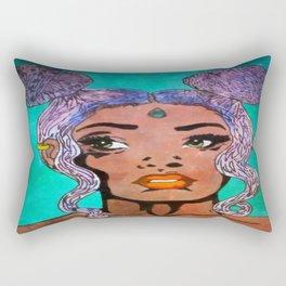 Melanin Mocha Rectangular Pillow