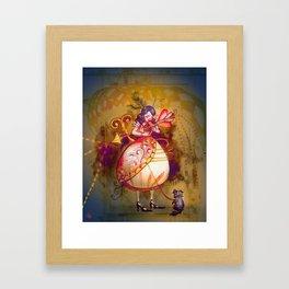 Love in Wonderland Framed Art Print