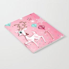 Cute Christmas Reindeer Notebook