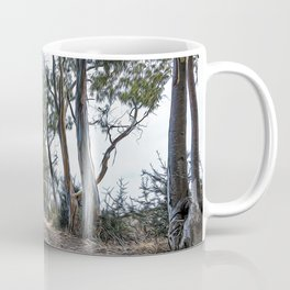 Dirt road in the countryside of southern Italy Coffee Mug