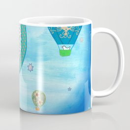 Blue Balloons Coffee Mug