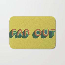 Far Out Bath Mat