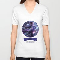 league of legends V-neck T-shirts featuring League Of Legends - Diana by TheDrawingDuo