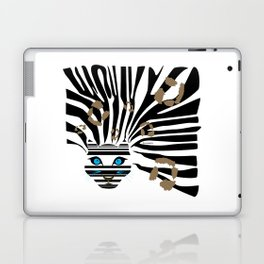 Leopard Zebra crossover Laptop & iPad Skin