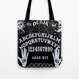 Occult Themed Ouija Board Design Tote Bag