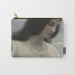 Stiching the Standard by Edmund Blair Leighton Carry-All Pouch