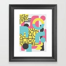 Collusion Framed Art Print