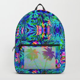 Vaporwave Palms #1 Backpack