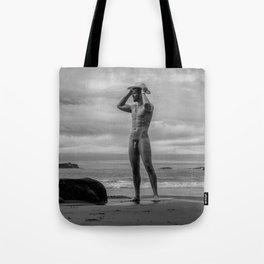 Cowboy Beach Tote Bag