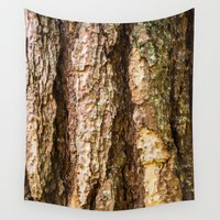 wood Wall Tapestries featuring Wood by Michelle McConnell