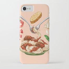 Spaghetti Mandala iPhone Case