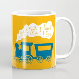 I Think I Can, I Think I Can, I Think I Can - The Little Engine that Could inspired Print Coffee Mug