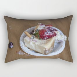 CHEESECAKE ASHTRAY Rectangular Pillow