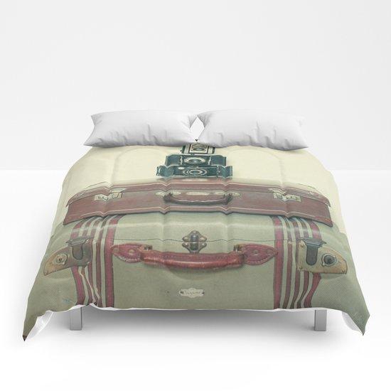 Leave Nothing Behind Comforters