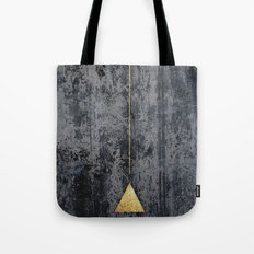 gOld triangle Tote Bag