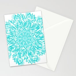 Fire-Blue Stationery Cards