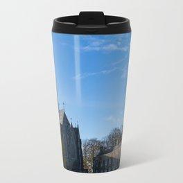 Church spire in Ireland Travel Mug