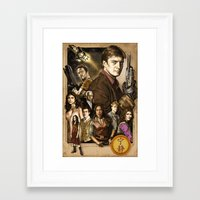 firefly Framed Art Prints featuring Firefly by odysseyart