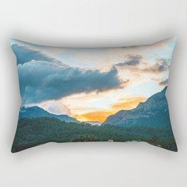 Kemer Sunset, Antalya, Turkey Rectangular Pillow