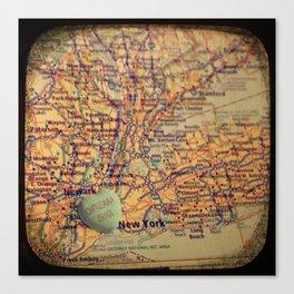 Dream Big New York Canvas Print