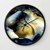 stone Wall Clocks featuring Stone by Stephen Linhart