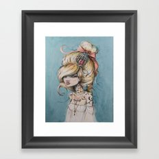 My Caged Heart Framed Art Print