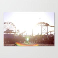 Santa Monica Pier Canvas Print