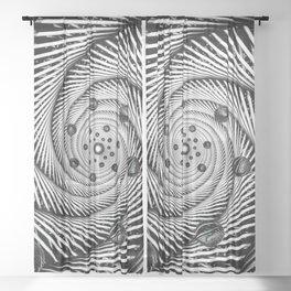 Worm Hole Sheer Curtain