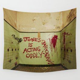 Jones acting oddly Wall Tapestry