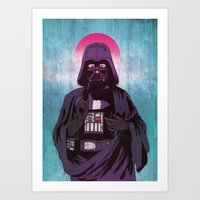 sith Art Prints featuring Holy Sith by That Design Bastard