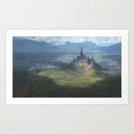 Isolated Chapel Art Print
