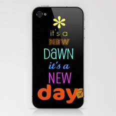 it's a new dawn, it's a new day iPhone & iPod Skin