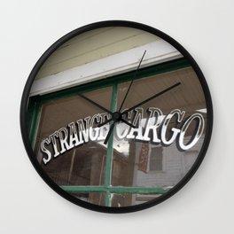 Strange Cargo Wall Clock